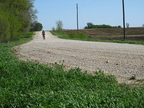 About 80 miles into the Almanzo 100. Image by Bjorn1101 at Flickr. CC license.