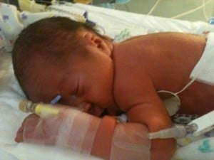 Edwin in the NICU
