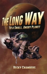 The Long Way to a Small, Angry Planet (Old Cover)