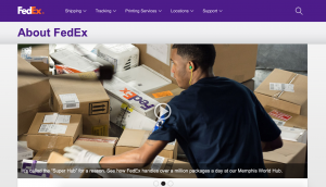 FedEx About Site